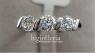Кольцо с з-мя алмазами 0,25 К Swarovski